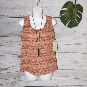 Lily White Havana Nights Sleeveless with Necklace